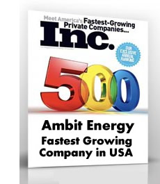 Ambit Energy Fastest Growing Company in USA